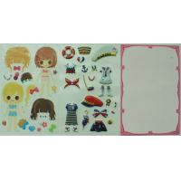 Buy cheap Popular Marine Custom Puffy Stickers , Kids 3D Dimensional for MP3 from wholesalers