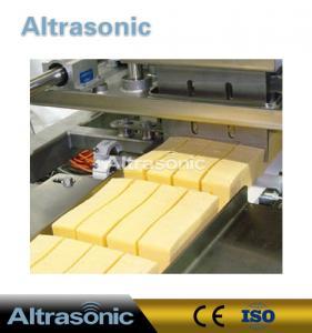 China 40KHz 500W Ultrasonic Food Cutting Machine With 82mm Titanium Blade on sale