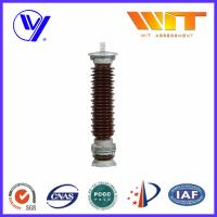 Wholesale Electrical Porcelain Surge Arrester 66KV Overvoltage Protection Device from china suppliers