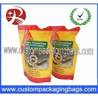 Buy cheap Special Shaped Sealable stand up zipper pouch , plastic food packaging Bag from wholesalers