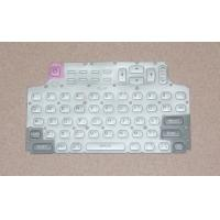 Waterproof White Silicone Rubber Keypad For Mobile Phone , FCC ROHS Approved