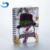 Buy cheap A5 PET 3D Lenticular Notebook Customized Spiral Bound Notebook SGS Listed from wholesalers