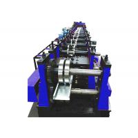 Buy cheap Galvanized Steel Trunking Cable Tray Forming Machine Width Adjustable With Punch from wholesalers