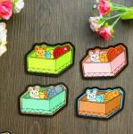 Buy cheap Lovely Bed Shape Fridge Magnet for Children from wholesalers
