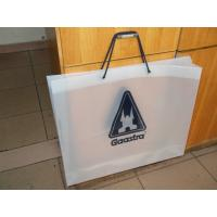 Wholesale Fashion Soft Loop Handle Bag , Cotton Rope Handle HDPE Shopping Bag from china suppliers