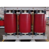 Buy cheap Red 160 KVA Dry Type Transformer Low Partial Discharge IEC60076 Standard product
