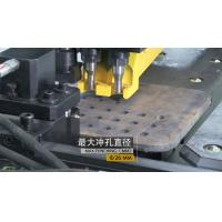 Buy cheap Hydraulic CNC Plate Drilling Machine Punching And Marking 3 Die - Stations from wholesalers