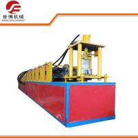 Buy cheap Galvanized Steel Door Frame Roll Forming Machine With Sheet Shearing Machine from wholesalers