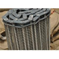 Wholesale Stainless Steel Wire Mesh Conveyor Belt With Chain Smooth Surface from china suppliers