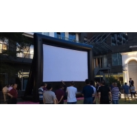 Wholesale Outdoor Theater Outdoor Screen Removable Portable Air Projector Screen Inflatable Screen for Outdoor Cinema from china suppliers