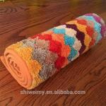 Buy cheap Hot sales colorful stripe microfiber doormat, Kitchen mat, bath mat from wholesalers