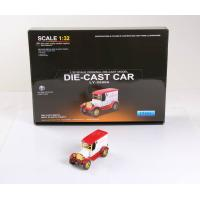 China Hot Selling Electric car oldtimer car models 1:32 Diecast car for sale on sale