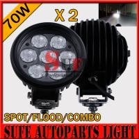 Buy cheap 6'' 70w LED Driving Light 10-30v Offroad Light 4x4 tractor Driving Light For SUV ATV Light from wholesalers