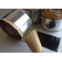 Custom Printed Aluminium Foil Tapes For Car / Automotive Noise Dampening Manufactures