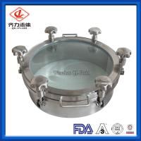 China Glass Cover Tank Side Door 1 Bar Pressure  300mm-600mm Heat Resistant on sale