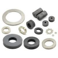 Buy cheap Diametrically Magnetized Neodymium Radial Ring Magnets Plated Zinc from wholesalers