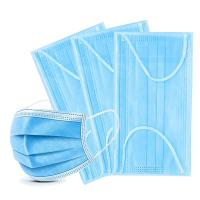 Wholesale 3 ply nonwoven disposable Disposable ordinary mask  disposal mask Disposable virus face mask from china suppliers