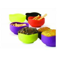 Buy cheap Household Food Grade Silicone Bowl For Dishwasher / Microwave , Heat - Resistant from wholesalers