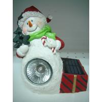 Buy cheap Christmas Decorative Polyresin Dwarf Solar Lights from wholesalers