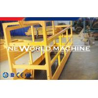 Wholesale ZLP series Steel suspended platform cradle gondola for constrcution , decoration from china suppliers