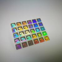 Buy cheap Authentication Laser Sticker Transparent Hot Stamping Die Cut Shape from wholesalers