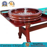 Buy cheap Domestic F Deluxe Solid Wooden Roulette Wheel Board Casino Solid And Durable 32Inch 80cm Diameter Casino Games Wheel from wholesalers