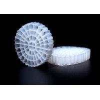 China Virgin HDPE Material K5 MBBR Filter Media With Good Surface Area And White Color on sale