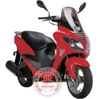 China EEC/EPA Gas Motor Scooter with 150cc Engine on sale