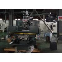 Bed Type Turret Milling Machine , NT40 Spindle Turret Head Milling Machine