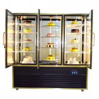 Buy cheap 1190L Refrigerated Cake Display Case With Digital Temperature Controller from wholesalers