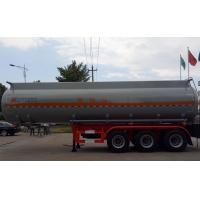 Wholesale 37m3 Oil Tank Truck For Anti - Corrossive Sodium Hydroxide Sulfuric Acid Nitric Acid from china suppliers