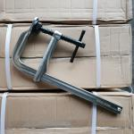 Buy cheap Welding Clamps Tommy Bar Handle Large Acme Thread Forged F Clamps 300mm X 140mm from wholesalers