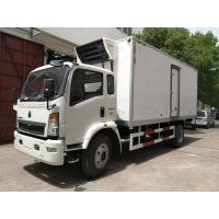 Buy cheap DFAC Small Refrigerated Van Truck Fast Food Cooling Van Body ISO 9001 Approved from wholesalers