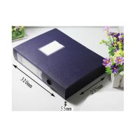 Buy cheap black plastic polypropylene PP File Folder of bottom clousure from wholesalers