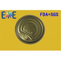 China Canned Food Lids , Metal Container Easy Open Door 307# 83mm FA on sale