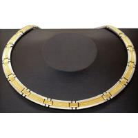 China Within 18 inch health gold plating, IPS plating on surface stainless steel necklace  on sale