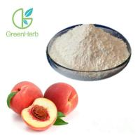 Buy cheap GreenHerb Supply Water Soluble Peach Fruit Powder Honey Peach Powder Peach Powder from wholesalers