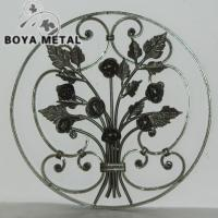 Buy cheap Decorative Forged Iron Panel for Home Decor and Fence from wholesalers