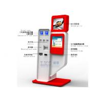 China Hotel SelfServe Card Dispenser Kiosk License / State ID Image Scanning , Cash Payment on sale