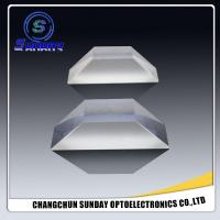 Buy cheap Glass Porro Prism, dove prism, wedge prism, roof prisms, corner prisms 0.4mm to 600mm, bk7 k9 fused silicfa glass stock from wholesalers