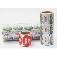 Buy cheap Easy Peel Alu Foil Food Labeling Stickers For Coffee Milk Capsules from wholesalers