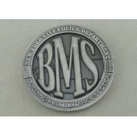 Buy cheap Zinc Alloy Personalized Coins Police Custom Challenge Coins By Brass Die Struck from wholesalers