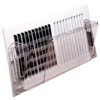 Buy cheap Magnet Air Conditioner Air Deflector , Wall Mounted Adjustable Air Deflector 10'' X 16'' from wholesalers
