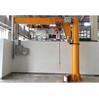 Buy cheap Workshop Floor Mounted Jib Crane 3 Ton Rated Loading Capacity 8m/min Lifting Speed from wholesalers