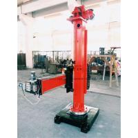 Manual Pipes Column And Boom Welding Manipulators 360°Column Rotate Manufactures