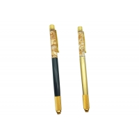 Buy cheap Microblading Accessories Wholesale Golden Foil Pen Crystal Eyebrow Tattoo Pen Permanent Manual Tattoo Pen With Low Price from wholesalers