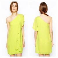 One Shoulder Womens Cocktail Dresses Manufactures