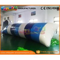 Wholesale 0.9mm PVC Tarpaulin Inflatable Water Trampoline Inflatable Jumping Pillow from china suppliers