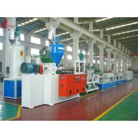 Buy cheap Hydraulic net changer PET Strap Production Line 150KW 60 - 70kg/h from wholesalers