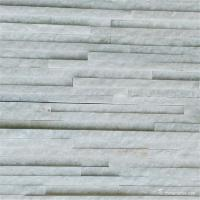 Buy cheap Snow White Marble Pencil Thin Stone Veneer For Wall Cladding Wear Resistant from wholesalers